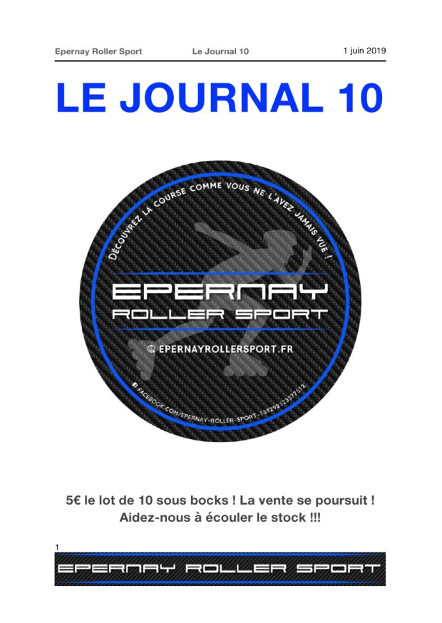 Le Journal ERS n°10