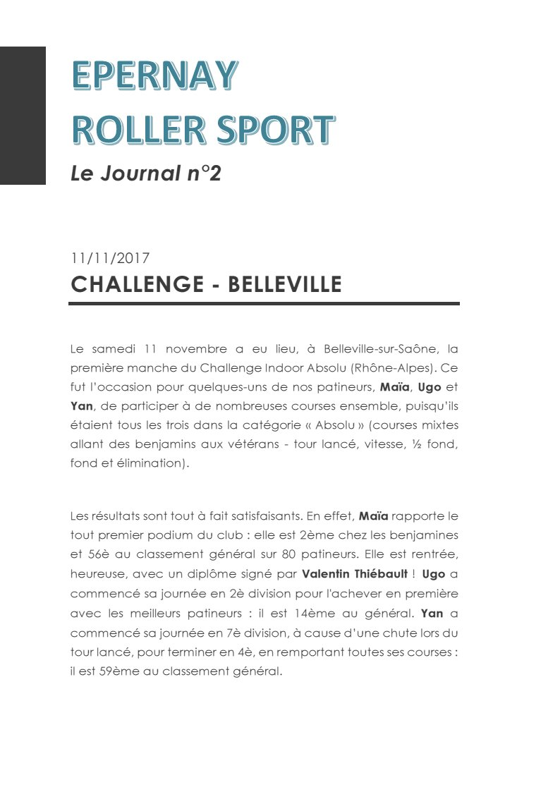 Le Journal ERS n°2