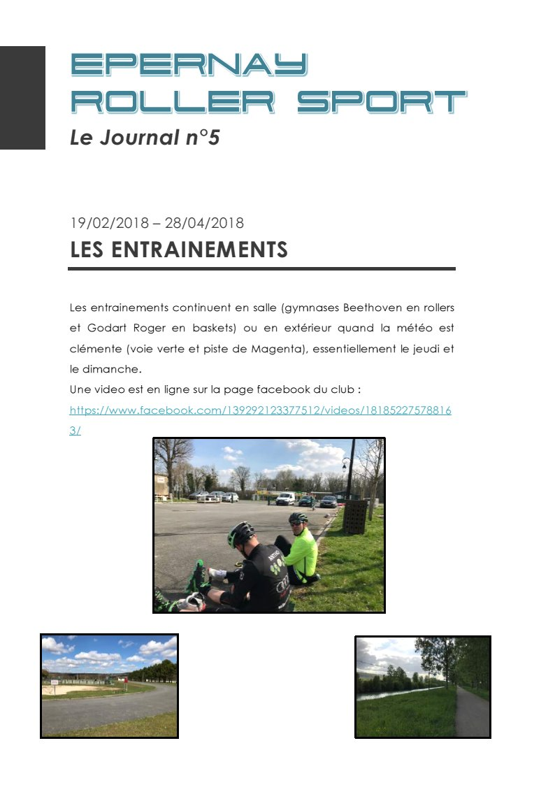 Le Journal ERS n°5
