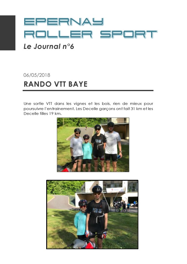 Le Journal ERS n°6