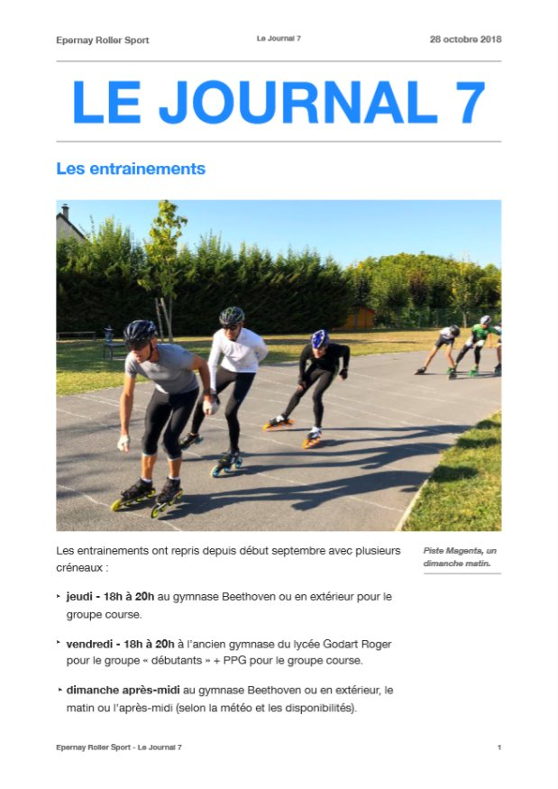 Le Journal ERS n°7