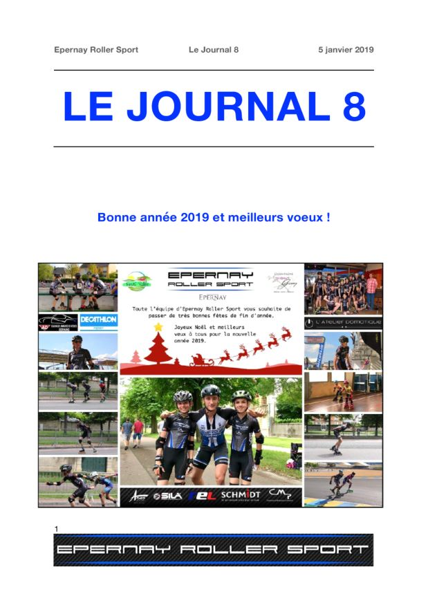 Le Journal ERS n°8